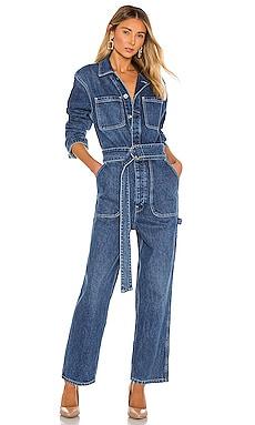 Denim Utility Jumpsuit Hudson Jeans $225