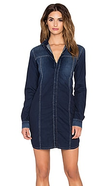 Hudson Jeans Trisha Utility Shirt Dress in Berkley