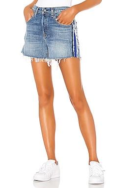 ШОРТЫ В ЮНОШЕСКОМ СТИЛЕ JADE Hudson Jeans $185