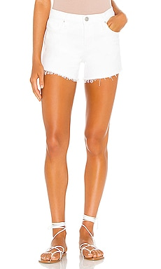 Gemma Mid Rise Cut Off Short Hudson Jeans $135