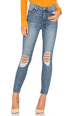 Купить Укороченные джинсы скинни с высоким поясом barbara - Hudson Jeans, Высокая талия, Мексика
