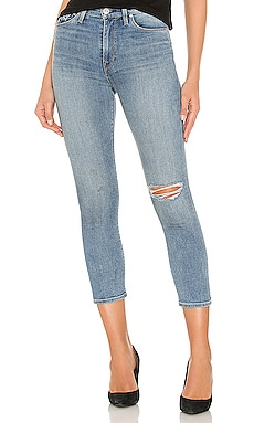 Holly High Rise Crop Skinny Hudson Jeans $147