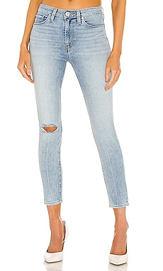 Barbara High Waist Super Skinny Crop Hudson Jeans $123