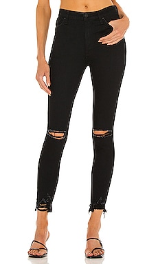 Barbara High Waist Super Skinny Crop Jean Hudson Jeans $195