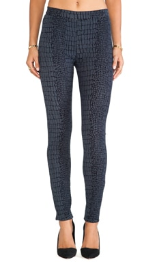 Hudson Jeans Evelyn High Waist Skinny in Snake Charmer