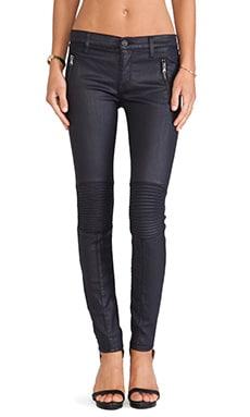 Hudson Jeans Stark Moto in Royal Elektra