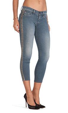 Hudson Jeans Luna Super Skinny Crop in Unfiltered