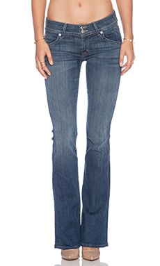 Hudson Jeans Mid-Rise Boot in Misunderstood
