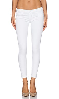 Hudson Jeans Krista Crop in White
