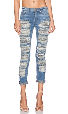Hudson Jeans Melissa Midrise Skinny in City Kid 2