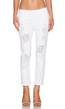 Hudson Jeans Leigh Boyfriend Pant in Cross Roads