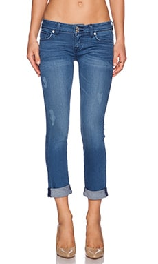 Hudson Jeans Ginny Straight Ankle Cuff in Angeltown