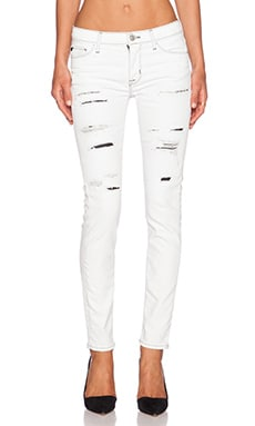Hudson Jeans Nico Mid Rise Super Skinny in Jalama