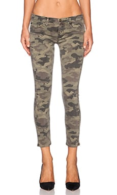 Hudson Jeans Krista Crop in Selimar