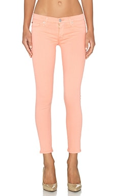 Hudson Jeans Krista Super Skinny Crop in Desert Rose