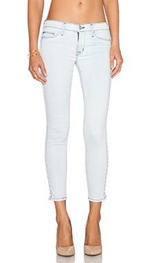 Hudson Jeans Luna Super Skinny Crop in Beach Break