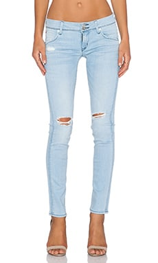 Hudson Jeans Collin Flap Skinny in Strata