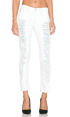 Hudson Jeans Melissa Mid Rise Crop Skinny in Imperial