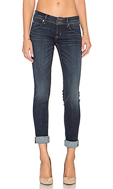 Hudson Jeans Collin Midrise Skinny in Elemental