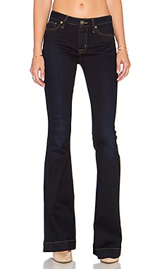 Hudson Jeans Farris Midrise Flare in Delilah