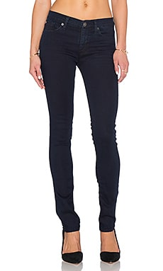 Hudson Jeans Shine Midrise Super Skinny in Piper