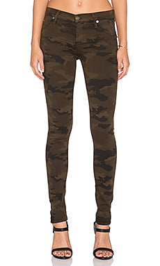 Hudson Jeans Lilly Midrise Super Skinny in Combat Camo