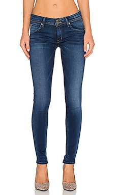 Hudson Jeans Collin Midrise Skinny in Relevation