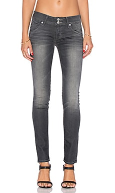 Hudson Jeans Collin Midrise Skinny in Reckless