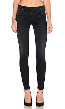 Hudson Jeans Nico Mid Rise Super Skinny in Influencer