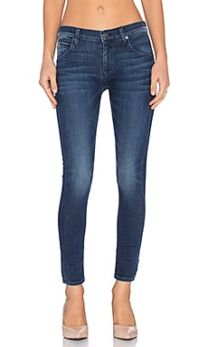 Lilly Ankle Skinny in Batallion