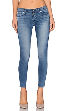 Hudson Jeans Krista Raw Hem in Authenticator