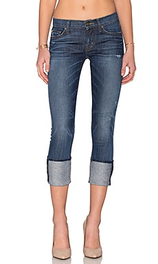 Hudson Jeans Muse Skinny Crop in Spy