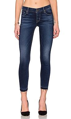 Hudson Jeans Krista Crop Super Skinny in Crest Falls