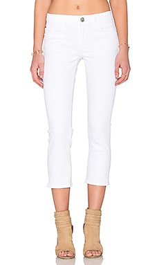 Hudson Jeans Fallon Crop in White 2