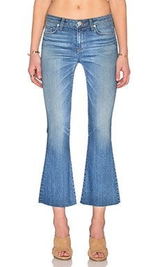 Hudson Jeans Mia 5 Pocket Crop Flare in Carve