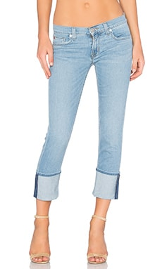 Hudson Jeans Muse Skinny Crop in Glass Shore