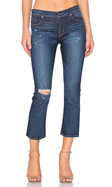 Hudson Jeans Fallon Crop in Off Shore