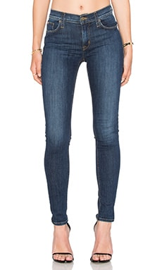 Hudson Jeans Nico Mid Rise Super Skinny in Free State