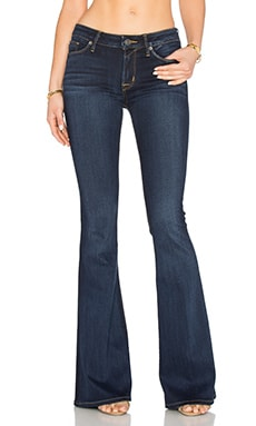 Hudson Jeans Mia 5 Pocket Mid Rise Flare in Oracle