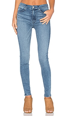 Hudson Jeans Barbara High Rise in Hideaway