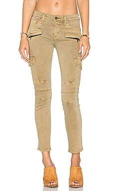 Colby Moto Skinny in Trooper Khaki