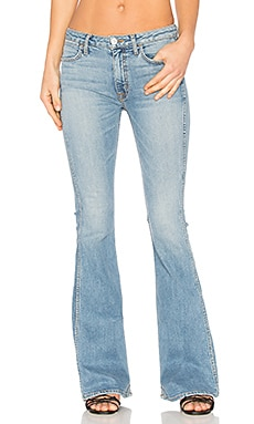 JEANS FLARE CINTURA ALTA TOM CAT