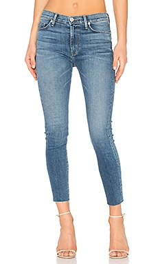 Barbara Frayed Hem Super Skinny in Traverse
