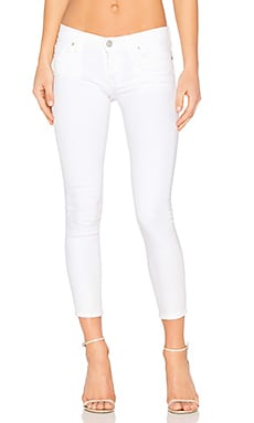 Krista Super Skinny Crop in White
