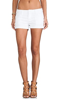 Hudson Jeans Hampton Cuffed Short in White