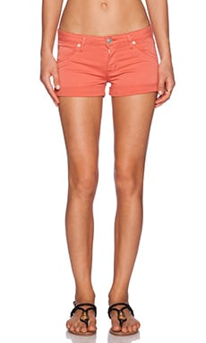 Hudson Jeans Hampton Cuffed Short in California Poppy