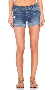 Hudson Jeans Croxley Mid Rise Short in Sugarcane