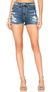 Soko High Rise Cut Off Short