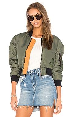 Укороченная куртка-бомбер rouge - Hudson Jeans