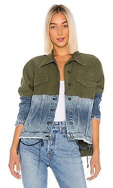 Twill Denim Jacket Combo Hudson Jeans $121